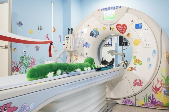 Tomograf komputerowy dla Szpitalnego Oddziału Ratunkowego Dziecięcego Szpitala przy ul. Niekłańskiej w Warszawie